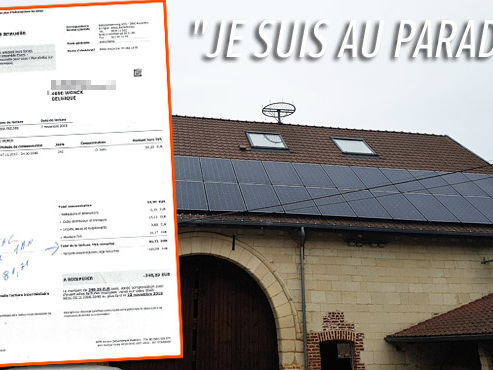 """""""En 6 ans, c'est rentabilisé"""": Ali est ravi de son installation photovoltaïque en Wallonie, mais ses calculs sont-ils corrects ?"""