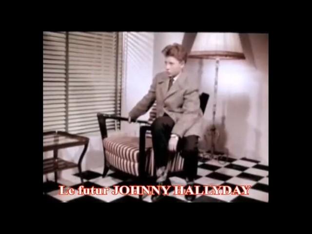 Johnny Hallyday : Dans une publicité à 12 ans, avant la gloire
