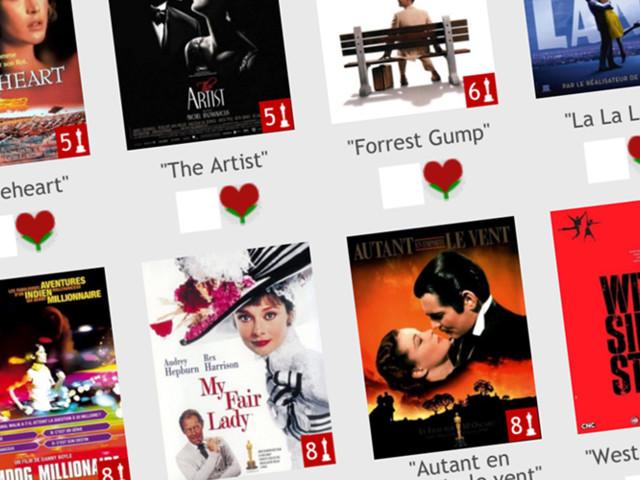 Découvrez les 12 premières playlists ciné de FilmsdeLover !