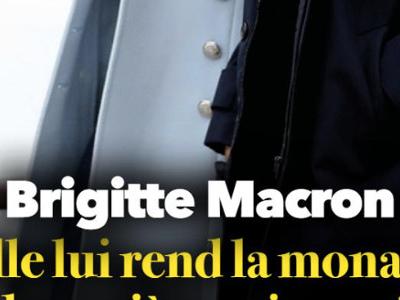 Brigitte Macron, arme fatale à l'Élysée, elle rend au Président la monnaie de sa pièce