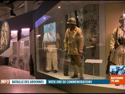 75 ans de la Bataille des Ardennes : visite du Bastogne War Museum