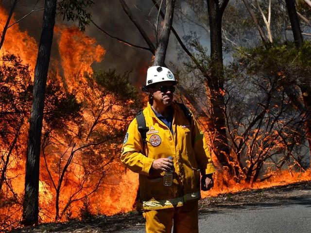 En Australie, le méga-feu est sous contrôle, de la pluie attendue