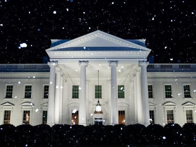 La Maison Blanche annonce de la neige à Washington... sauf que non
