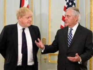 """Accord sur le nucléaire iranien - Tillerson espère des """"progrès"""" avec les Européens pour durcir les termes de l'accord"""