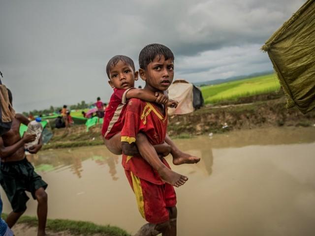Le Bangladesh s'apprête à envoyer des réfugiés Rohingyas sur une île potentiellement submersible
