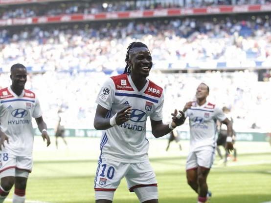 Foot - L1 - Ligue 1 : Lyon domine Amiens et lance bien son Championnat