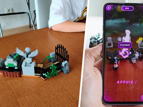 Les tests de Mathieu: Lego se lance dans la réalité augmentée pour attraper les fantômes, et c'est un peu compliqué