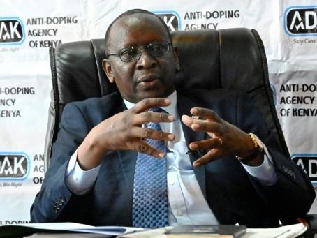 """Kenya: """"Nous devons faire encore plus"""" contre le dopage, estime le chef de l'Adak"""