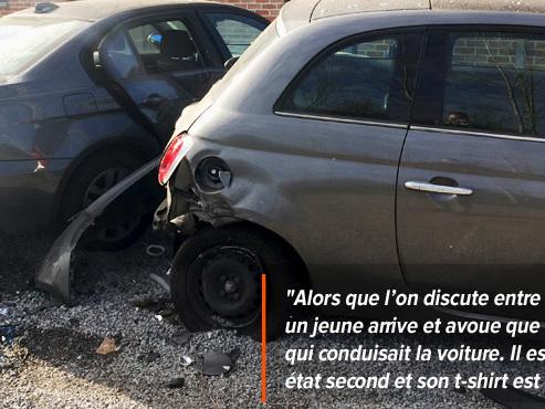 Un jeune au CPAS et non-assuré percute les voitures d'Adam et sa copine en pleine nuit à Obourg: qui va payer les frais?