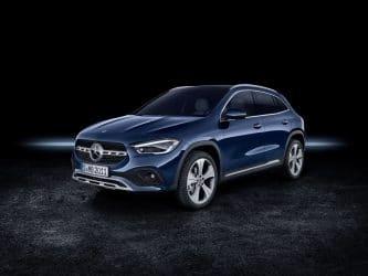 Nouveau Mercedes GLA : changement de registre