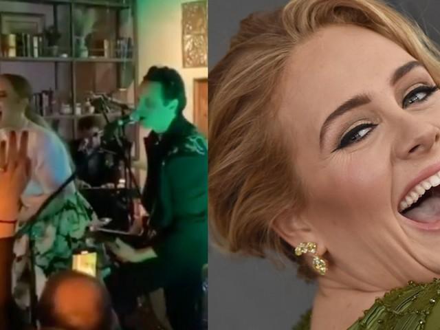 Méconnaissable, Adele a mis le feu au mariage de sa meilleure amie