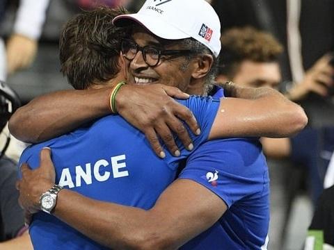 Coupe Davis 2018: la France élimine l'Espagne et se qualifie pour la finale!