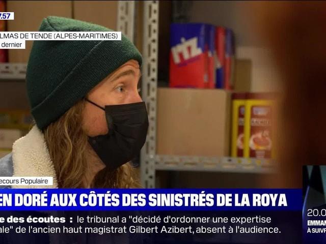Julien Doré aux côtés des sinistrés de la Roya - 24/11