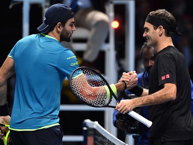 Masters: Federer se relance en dominant Berrettini