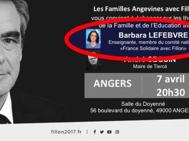 Barbara Lefebvre, l'enseignante anti-Macron qui assurait ne pas être filloniste, soutiendra Fillon