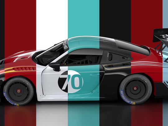 Porsche propose des livrées très spéciales pour la nouvelle Porsche 935