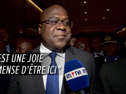 Première visite officielle en Belgique du nouveau président congolais: Félix Tshisekedi livre ses premières impressions à RTL INFO (vidéo)