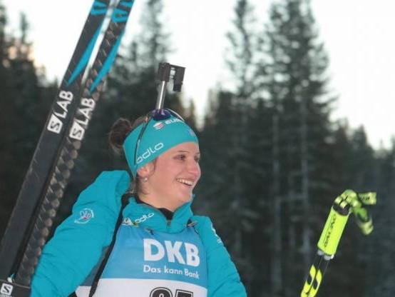 Biathlon - CM (F) - Julia Simon, gagnante à Ruhpolding avec le relais français, a mis à profit « la bonne pression »