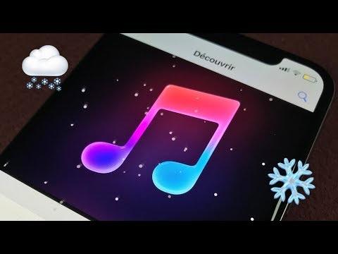 """Apple a caché de la neige dans son app """"Apple Store"""", voici en vidéo comment l'activer"""