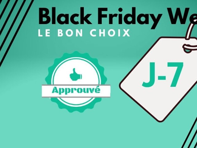 Avant le Black Friday, les meilleures promos de la Black Friday Week ce vendredi