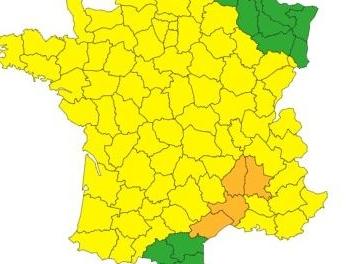 Le Gard placé en vigilance orange aux orages, aux pluies et aux inondations