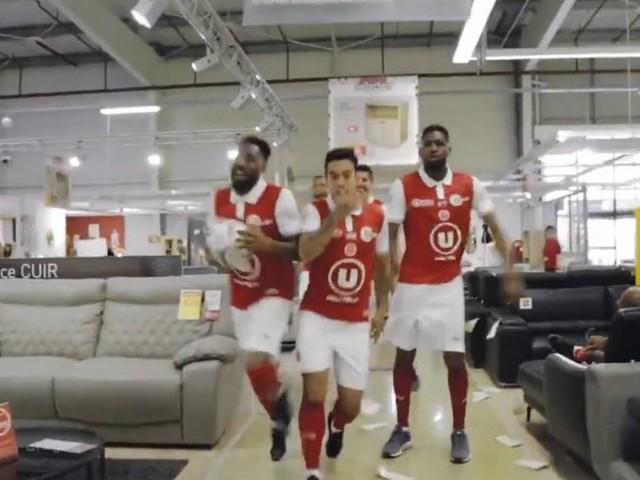 Le drôle de clip de Reims pour fêter sa montée en Ligue 1 (VIDEO)
