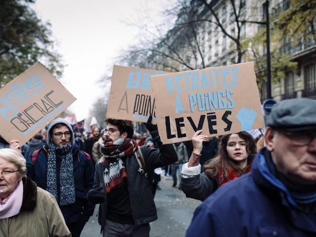 """Réforme des retraites : ces néo-manifestants qui découvrent le """"chaos"""" des défilés post-gilets jaunes"""