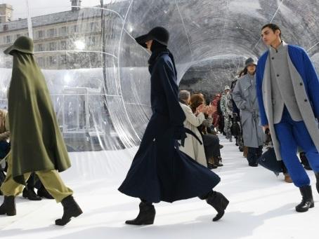 Mode à Paris: le post-sportswear chez Kenzo