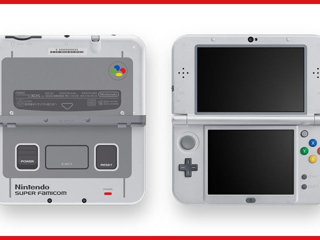 New 3DS XL : la version Super Nintendo débarque en France