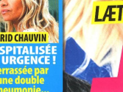 Ingrid Chauvin, double pneumonie, surprenant clin d'œil à Anouchka Delon bientôt maman (photo)