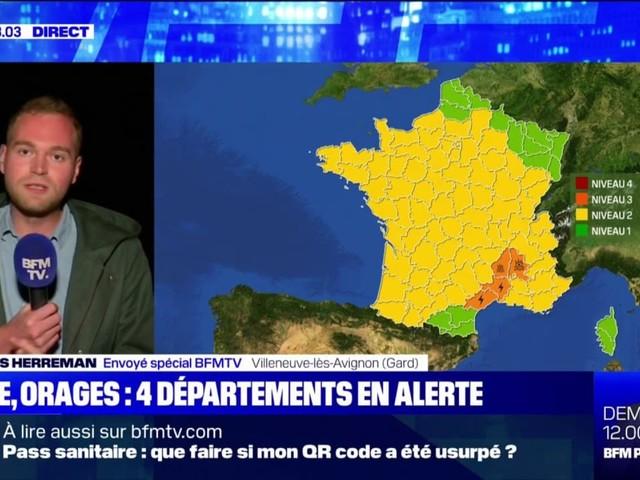 Orages et inondations: les départements en alerte orange se préparent à d'éventuelles intempéries
