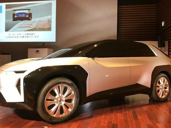 Subaru dévoile un avant-goût deson SUV électrique