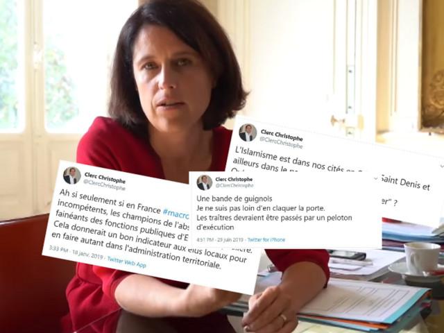 """La préfète du Puy-de-Dôme découvre """"atterrée"""" les tweets """"abjects"""" de son mari"""