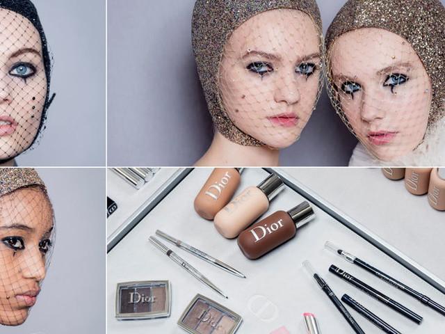 Haute-Couture Dior 2019 : le singulier maquillage de Peter Philips décrypté