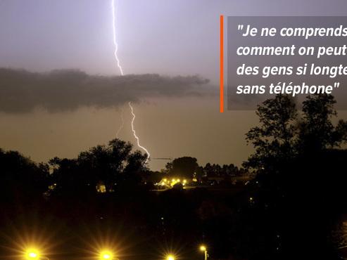 Mady, 83 ans, privée de téléphone depuis trois semaines suite à un orage: un cas compliqué selon Proximus