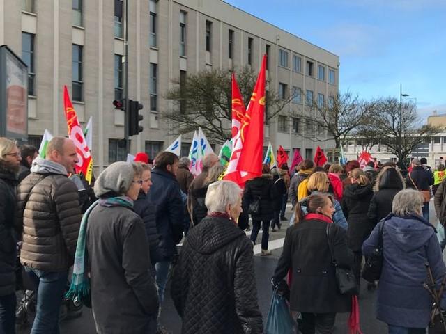 Retraites : l'intersyndicale appelle à une grande journée de mobilisation le 10 décembre à Cherbourg