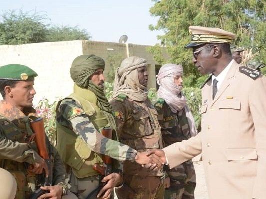 Cérémonie d'accueil du bataillon FAMa reconstituées ce mardi