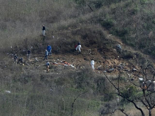 Mort de Kobe Bryant: les neuf corps collectés sur le site de l'accident