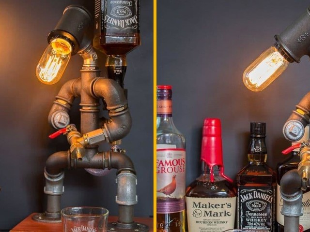 [TOPITRUC] Un robot qui fait lampe et qui sert de l'alcool avec sa lance