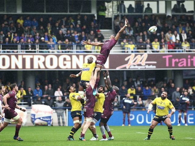 Rugby Top 14 : L'ASM va défier Bordeaux au stade Chaban-Delmas