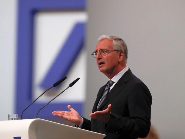 Achleitner achète pour près de million d'euros d'actions Deutsche Bank