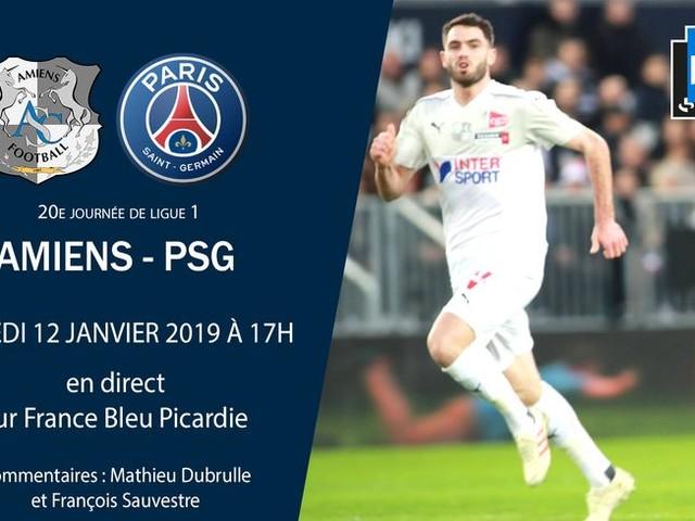 Ligue 1 - Direct : suivez la vingtième journée entre Amiens et Paris