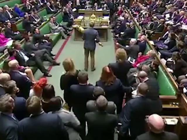 Brexit: ce député s'empare d'un symbole royal et provoque l'indignation