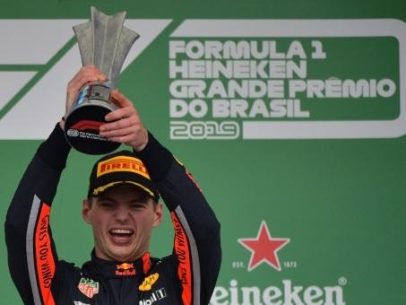 """GP de F1 du Brésil: un succès """"prometteur"""" pour 2020, selon Verstappen"""