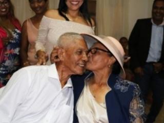 Saint-Leu : les époux Rosalie ont célébré leurs 70 ans de mariage