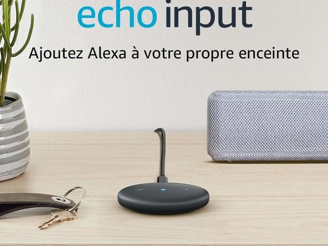 Amazon Echo Input : installer l'assistant Alexa sur n'importe quelle enceinte pour la rendre intelligente