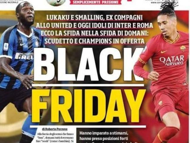"""""""Black Friday"""", la une raciste du journal Corriere dello Sport"""