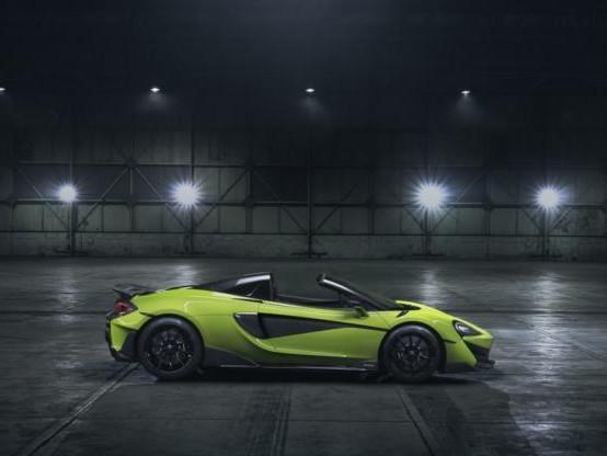 Auto - La 600 LT Spider, nouveau bolide de McLaren