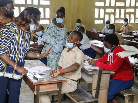Côte d'Ivoire: 41,27% d'admis à l'examen du BEPC 2021