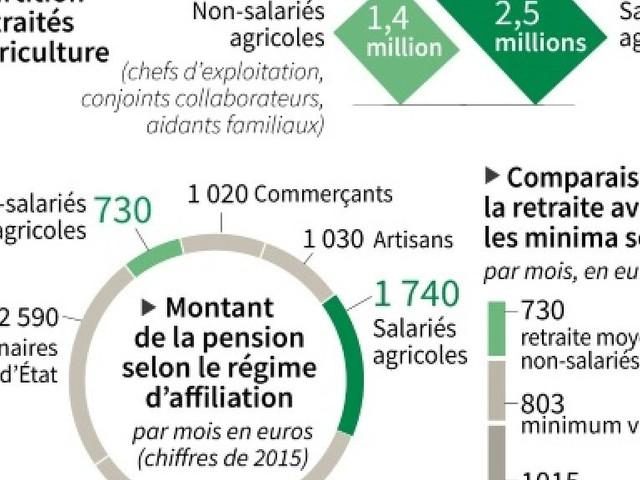 Les retraites agricoles, un dossier en jachère